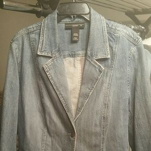 Plus Size 22/24 Vintage Denim Jacket